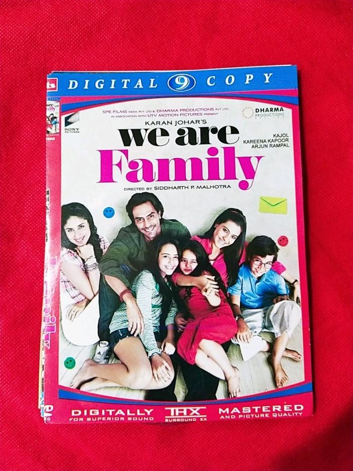 Jual New Dvd Film India We Are Family Jakarta Barat Henhen Galaxy Shop Tokopedia