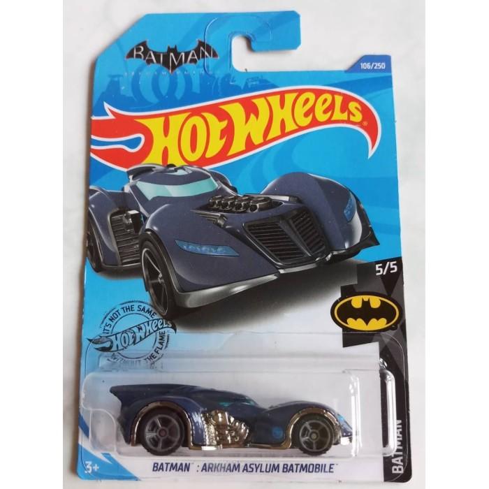 Jual Hot Wheels Batman Arkham Asylum Batmobile Thr Treasure Hunt Reguler Kota Denpasar Vril Tokopedia
