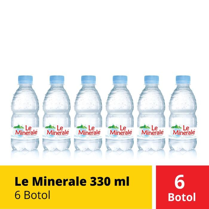 Foto Produk Le Minerale 330 ml (6 Botol) dari Mayora Official Store