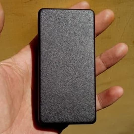 Foto Produk box hammond 1590G style black sand powder coating - Hitam Pasir dari versus box mod supply