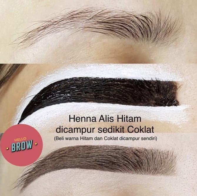 Jual Hello Brow Henna Alis Warna Coklat Dan Hitam 2 Pcs Henna Saja Jakarta Barat Lusystore21 Tokopedia