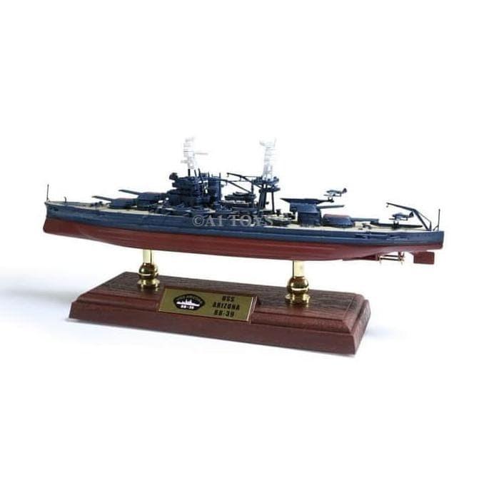 Jual Premium Miniatur Kapal Perang Diecast Arizona Forces Of Valor