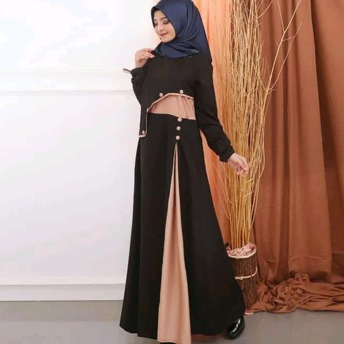 Jual Baju Wanita Muslim Gamis Bagus Terbaru Jakarta Barat Elmira Store Tokopedia