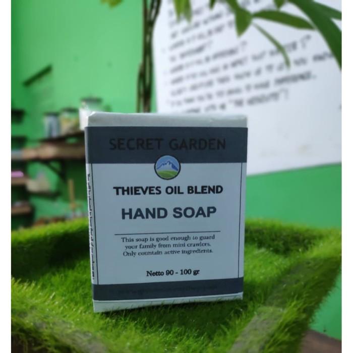 Foto Produk GMS Thieves Oil Blend Hand Soap (Sabun Cuci Tangan Anti Bakteri Alami) dari Green Mommy Shop