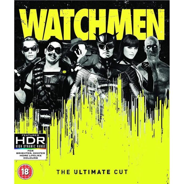 Jual Dvd Film Watchmen 2009 The Ultimate Cut Edition Kab Karawang Dvd Movie Update Tokopedia
