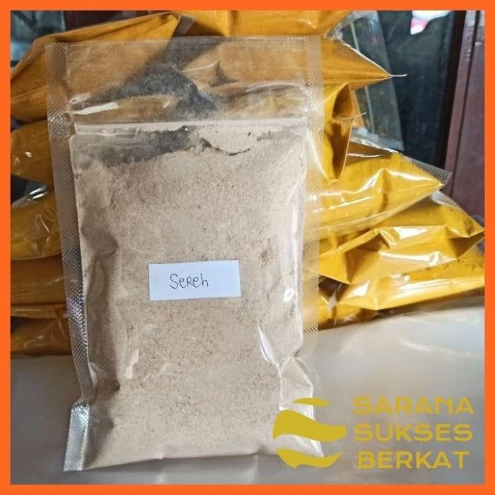 Foto Produk Sereh Bubuk Jamu Tradisional Herbal Untuk Kesehatan 200 gram dari Sarana Sukses Berkat