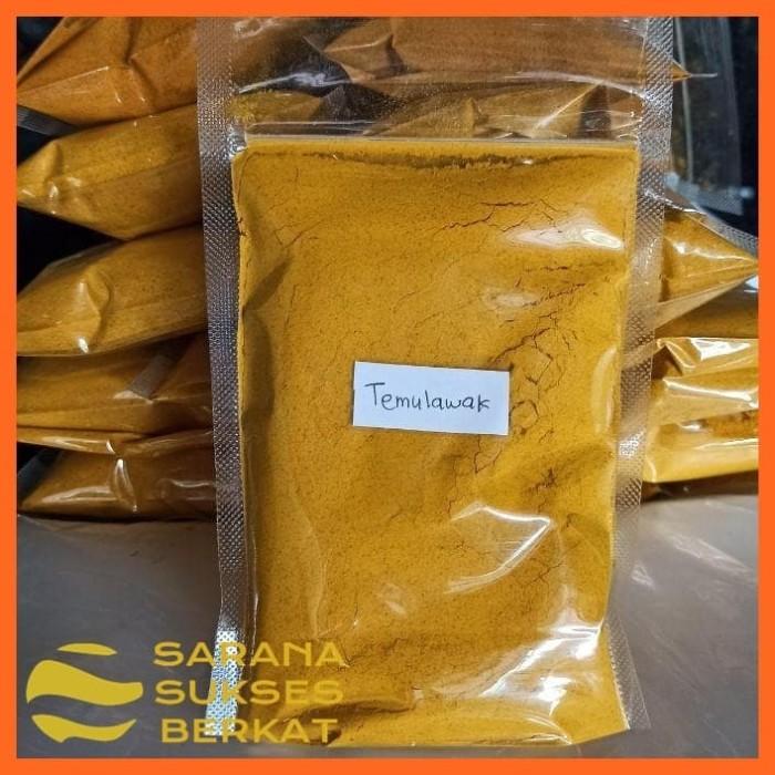 Foto Produk Temulawak Bubuk Jamu Tradisional Herbal Untuk Kesehatan 200 gram dari Sarana Sukses Berkat