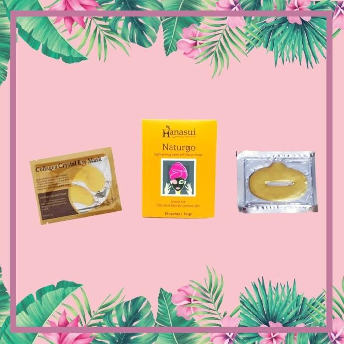 Foto Produk HANASUI NATURGO MASKER BPOM| Collagen Crystal Ey| MASKER BIBIR COLLAGE dari halimah kosmetiku