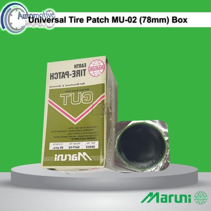 Foto Produk Maruni Universal MU-02 Box Isi 50pcs Karet Koyok Tambal Ban TipTop dari automotive mart