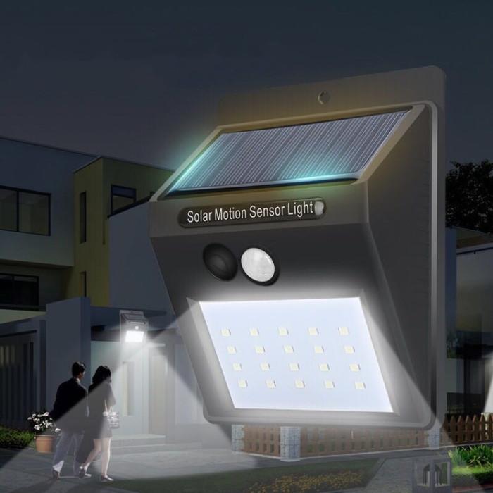 Jual Lampu Taman Sensor Tembok Dinding Solar Tenaga Matahari Surya Murah Kota Surabaya Fashion Plasa Tokopedia