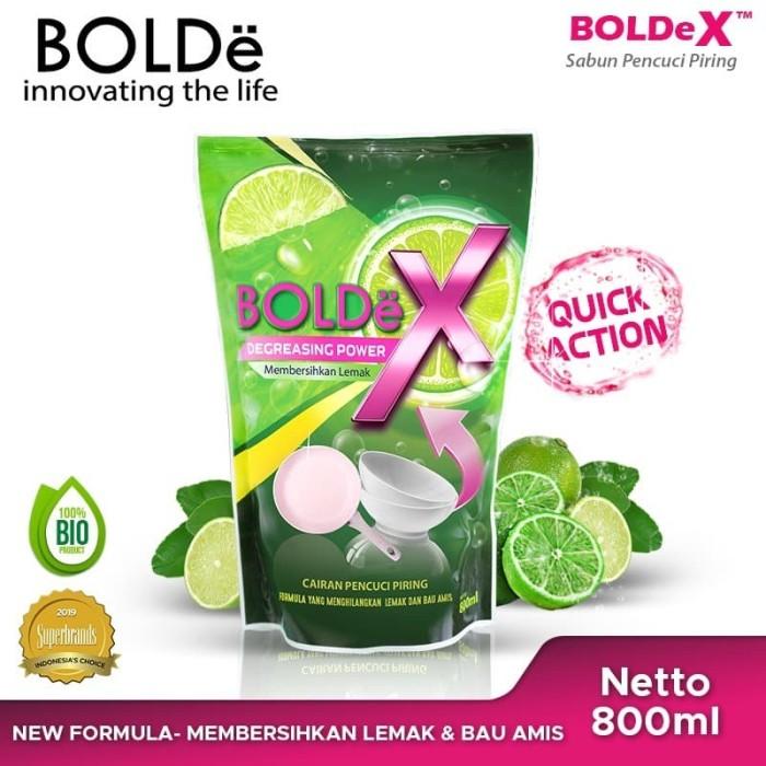 Foto Produk BOLDe X Sabun Pencuci Piring Jeruk Nipis 800 Ml dari BOLDe Official Store