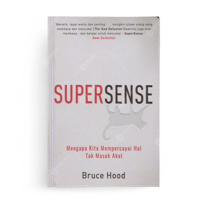 Foto Produk Supersense Mengapa Kita Mempercayai Hal Tak Masuk Akal dari Berdikari Book