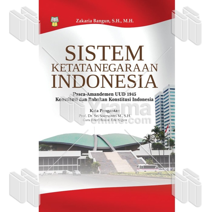 Foto Produk BUKU SISTEM KETATANEGARAAN INDONESIA PASCA-AMANDEMEN UUD 1945 dari Yrama Widya Online