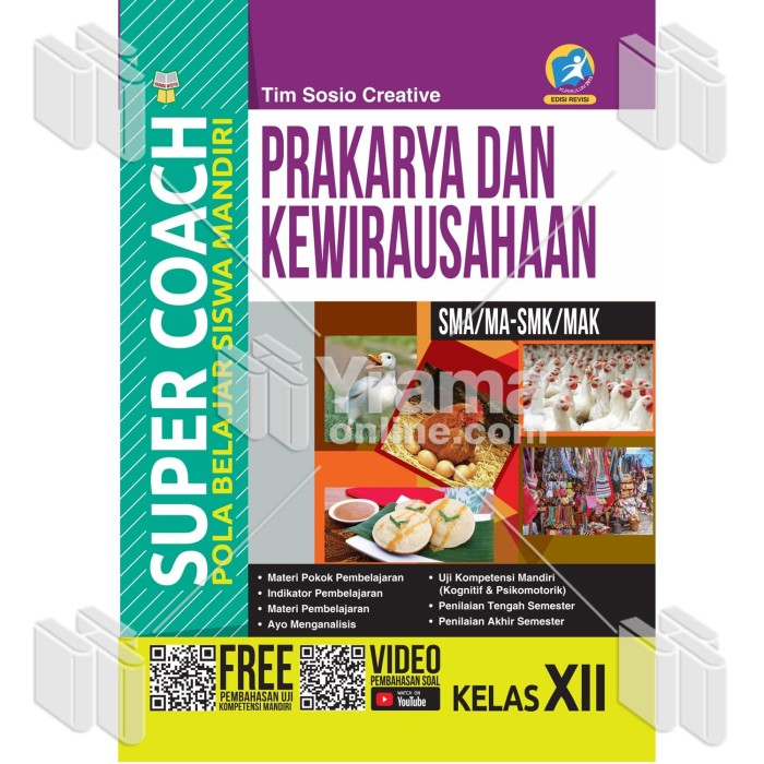 Foto Produk BUKU SUPER COACH PRAKARYA DAN KEWIRAUSAHAAN SMA/MA-SMK/MAK KELAS XII dari Yrama Widya Online