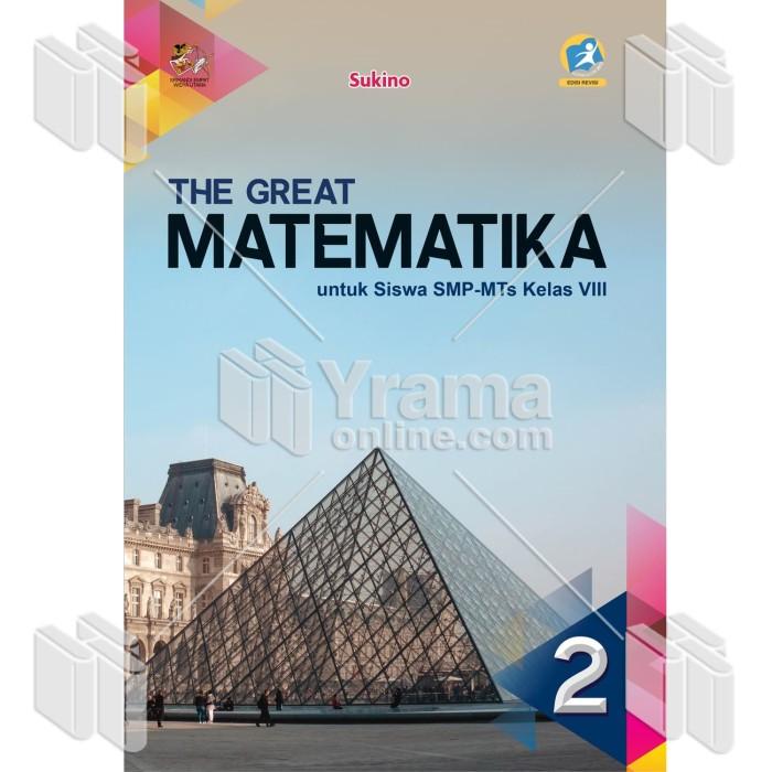 Foto Produk BUKU THE GREAT MATEMATIKA UNTUK SISWA SMP-MTs KELAS VIII dari Yrama Widya Online