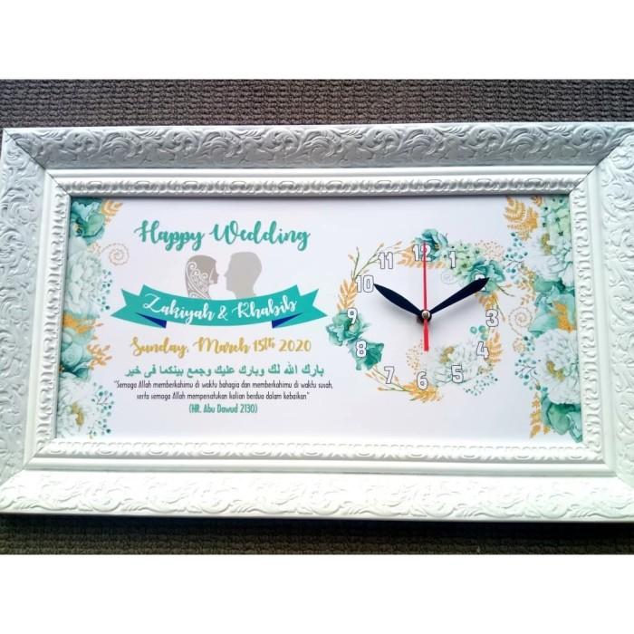 Foto Produk Hiasan jam dinding unik vintage untuk kado pernikahan kaligrafi dari ai_decor