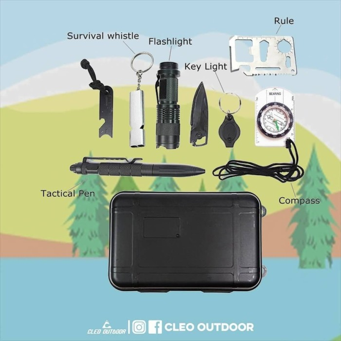 Foto Produk Survival Tools Complete - SOS dari Cleo Outdoor Adventure