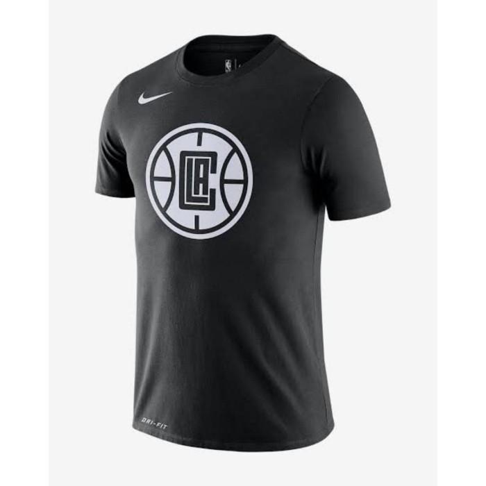 Jual T Shirt Kaos Baju Basket Nba La Los Angeles Clippers City Edition Logo Hitam M Kota Semarang Kedai Basket Tokopedia