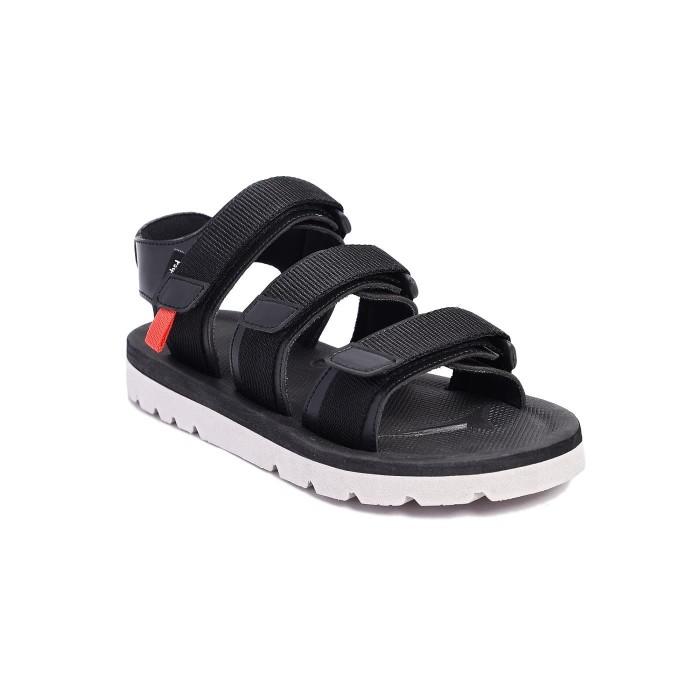 Foto Produk SANDAL SEPATU FOOTSTEP CROWN 2.0 BLACK   TOTOSURYO x FOOTSTEP FOOTWEAR dari Toto_Suryo