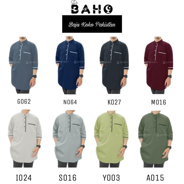 Foto Produk Baju Koko Pria Baju Muslim Pria Gamis Pria XXL dari Baho