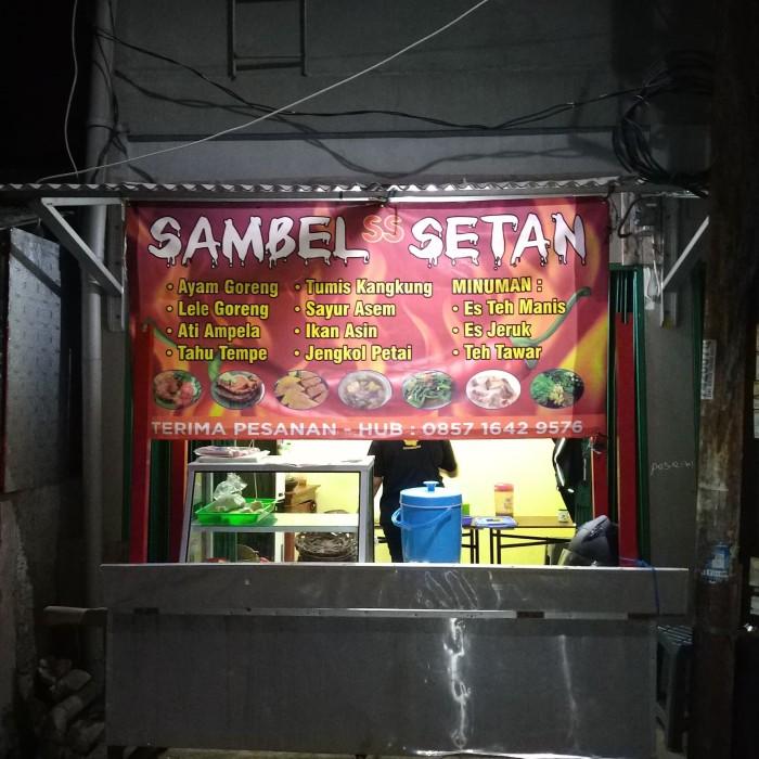 Jual Gerobak Pecel Lele Kota Tangerang Selatan Warung88daffa Tokopedia