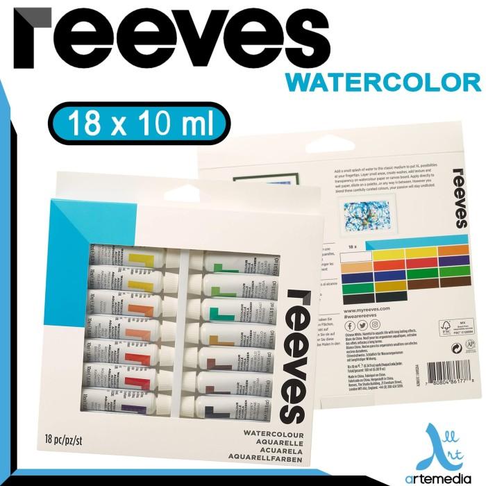 Foto Produk Reeves 18x10ml Water Color Set dari Artemedia Shop