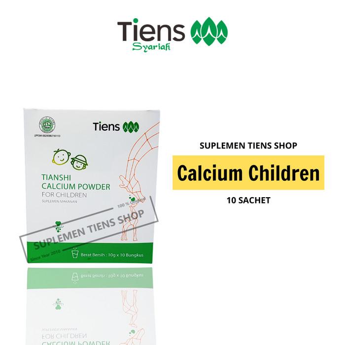 Foto Produk Susu Formula Peninggi Badan Untuk Anak, Kalsium Tiens Untuk Anak dari Suplemen Tiens Shop
