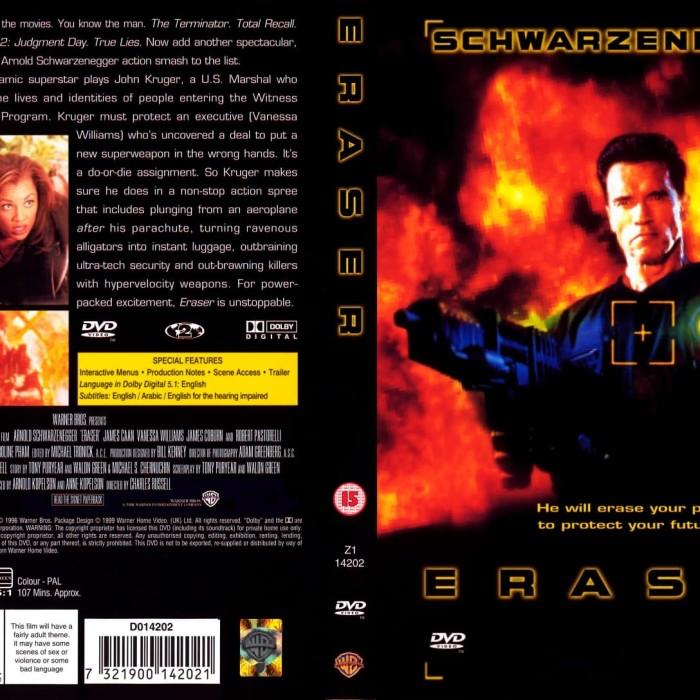 Jual Film Dvd Eraser 1996 Movie Collection Film Koleksi Jakarta Barat M Collector Tokopedia