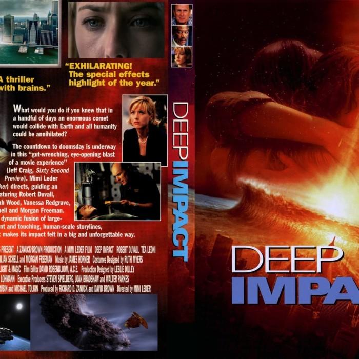 Jual Film Dvd Deep Impact 1998 Movie Collection Film Koleksi Jakarta Barat M Collector Tokopedia