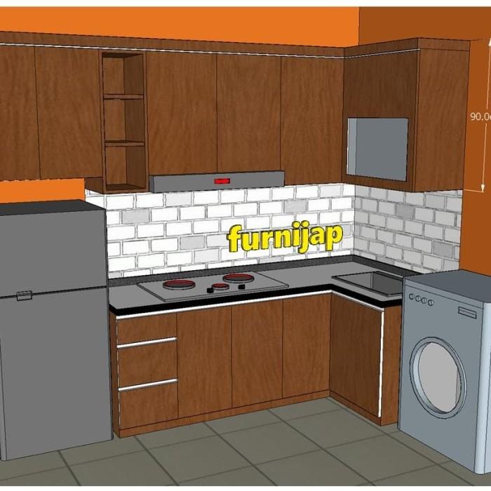 Jual Kitchenset HPL TACO Custom Request, Interior Bekasi
