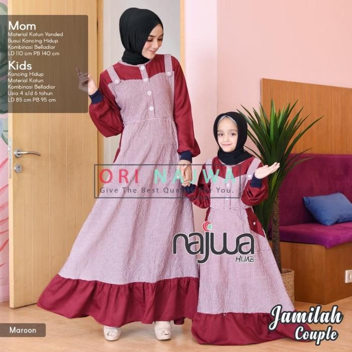 Jual Jamilah Couple Baju Muslim Gamis Ibu Dan Anak Perempuan Kota Surakarta Hroutfit Tokopedia