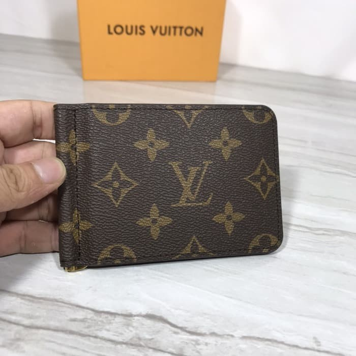 Jual Louis Vuitton Money Clip Monogram Brown Wallet Kota Medan Sustiolsop Tokopedia