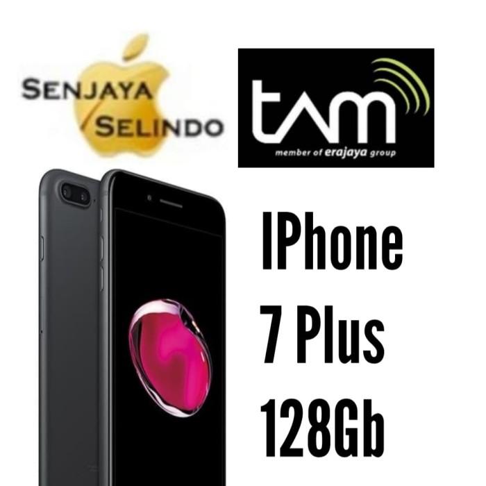 Foto Produk IPHONE 7 Plus 128Gb Black Garansi Resmi Indonesia Ibox / Tam - Hitam dari Senjaya Selindo