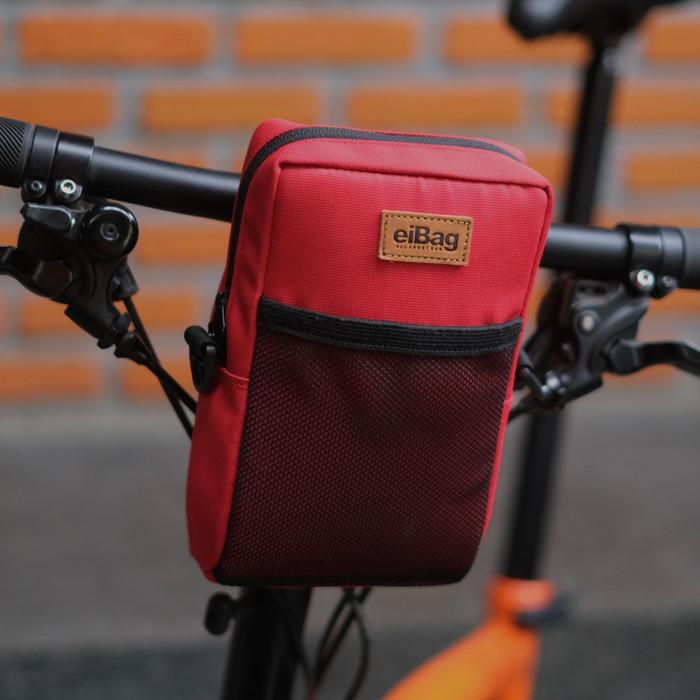 Foto Produk Tas sepeda lipat brompton dahon dll eibag 1553 - Merah dari eibag-indonesia