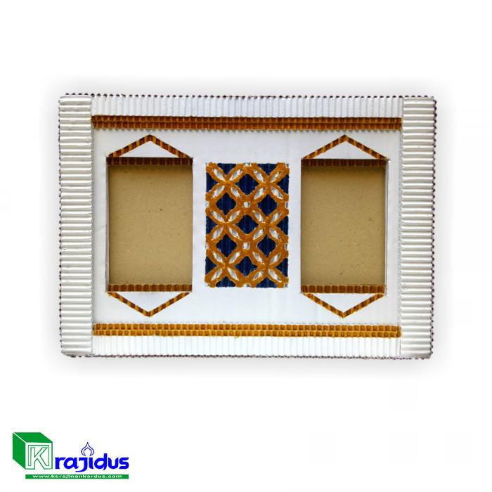 Foto Produk Frame Foto Unik Krajidus dari Kerajianan Kardus