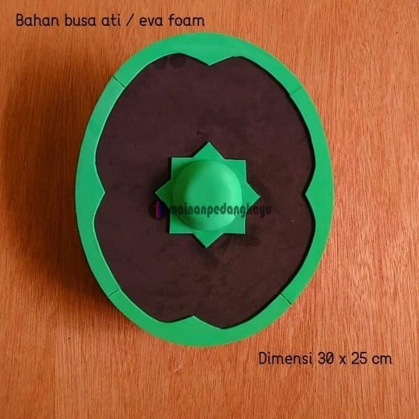 Foto Produk Mainan Perisai/Tameng Busa (Foam Arabian Shield - Cosplay/Kid) dari Mainan Pedang Kayu