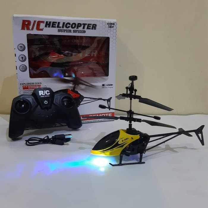 Foto Produk Rc Helicopter Mini Remote Control - Mainan Helikopter Remot Kontrol dari Oktaviana AL Shop