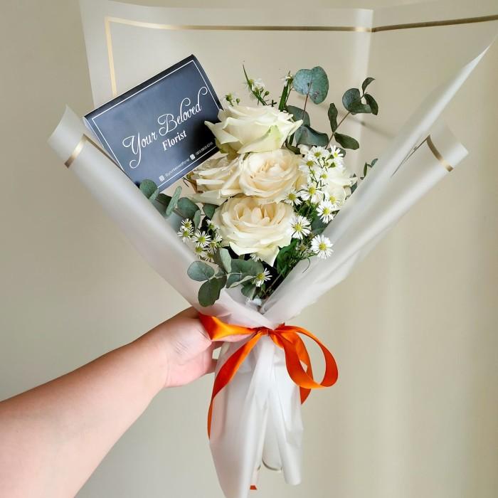 Jual Buket Bunga Mawar Wisuda Pacar Kota Tangerang Ailsie S Paper Blossom Tokopedia