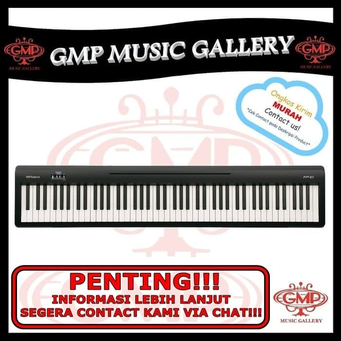 Jual Roland Fp 10 Digital Piano Roland Fp10 Digital Piano Jakarta Barat Gmp Music Gallery Tokopedia