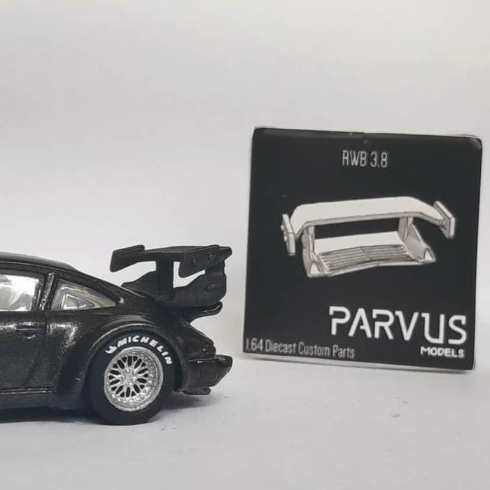 Foto Produk Parvus Models 1 64 RWB 3 8 Wing Untuk Custom Hot Wheels Tomica MINIGT dari Hobby_Shoppu