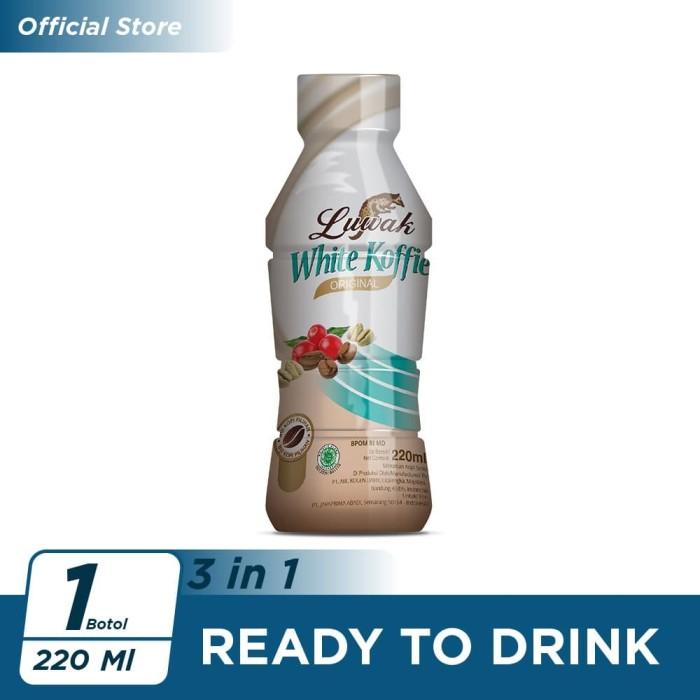 Foto Produk Kopi Luwak White Koffie Original Botol 220ml dari Kopi Luwak Official