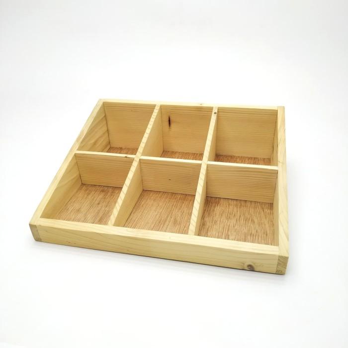 Foto Produk Kotak Tea Bag Besar dari Kai Wooden Art Shop