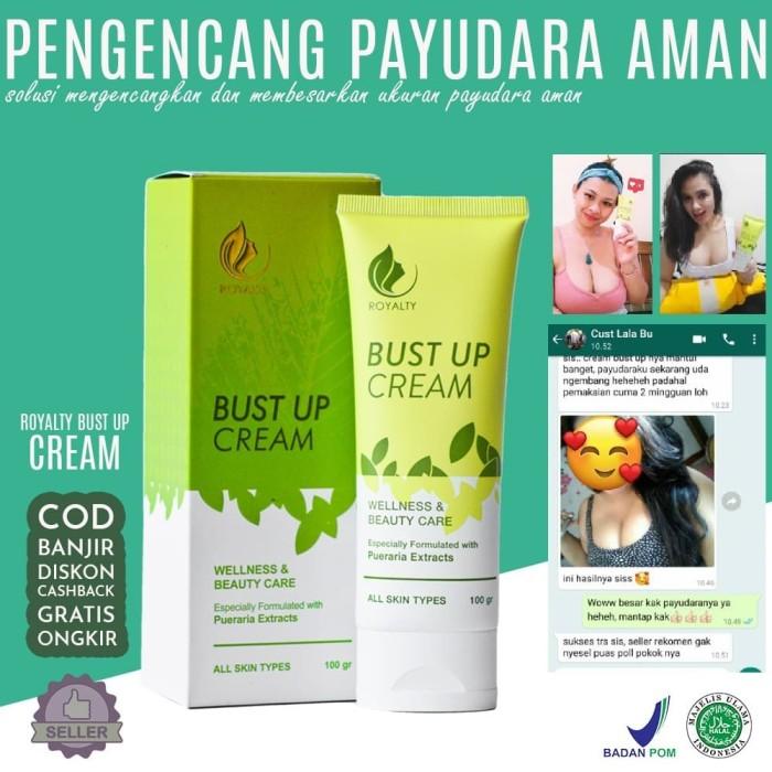 Foto Produk Royalty Bust Up Cream Pembesar Pengencang Payudara bpom dari Look The Beauty Official