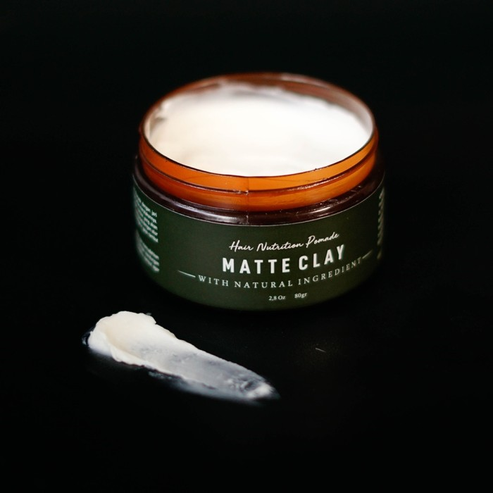 Foto Produk Folti Baffi Hair Nutrition Pomade Matte Clay Tidak Merusak Rambut dari Look The Beauty Official