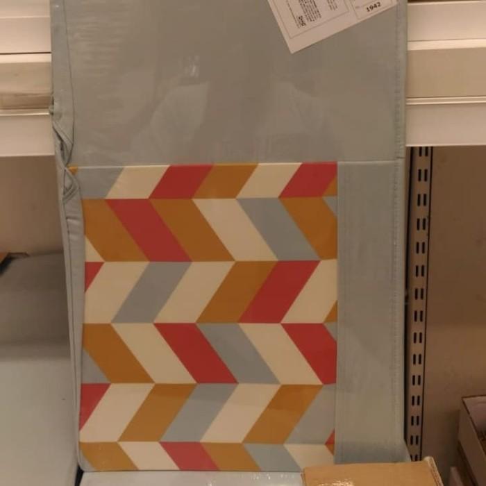 Foto Produk Kotak box kain wadah penyimpanan biru warna 33x38x33cm dari IKEA ONE Indonesia