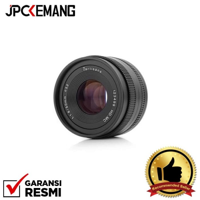 Foto Produk 7Artisans 50mm f/1.8 for Sony E Mount GARANSI RESMI dari JPCKemang