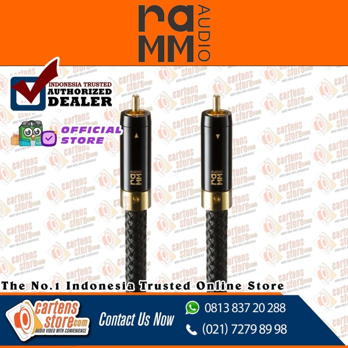 Foto Produk RAMM Audio ELITE7 RCA Cable By Cartens-Store.com dari Cartens Store