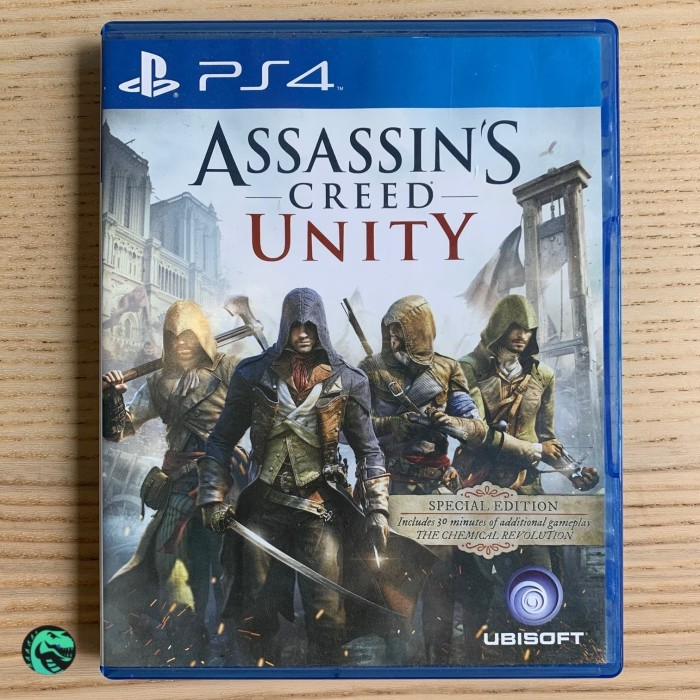 Jual Cd Game Ps4 Assassin S Creed Unity France Pre Owned Kota