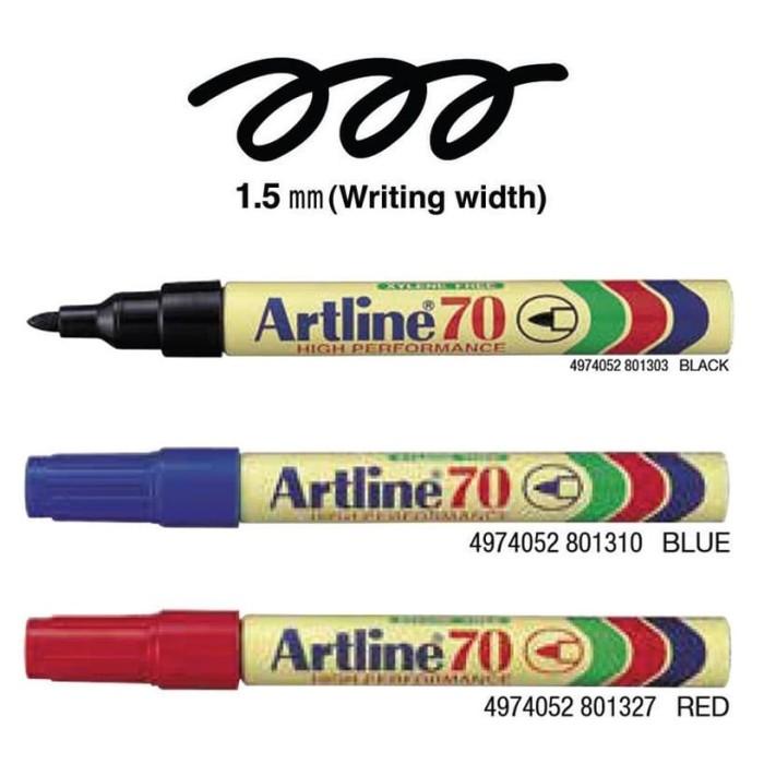 Foto Produk Spidol Artline 70 Permanent Marker (Pcs) dari officemart