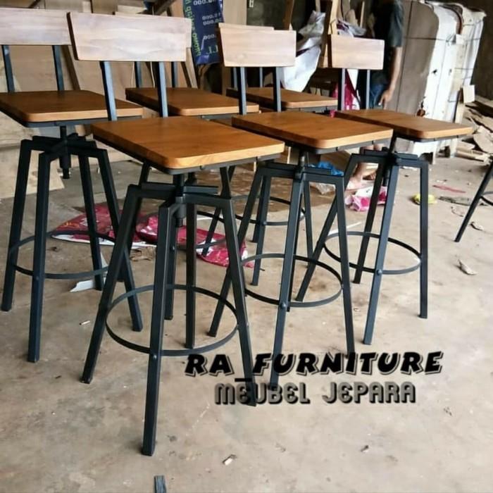Jual Kursi Bar Kursi Cafe Kursi Kedai Kopi Minimalis Kab Jepara Ra Furniture Tokopedia